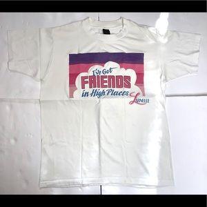 "Vintage ""I've Got Friends In High Places"" T-Shirt"